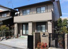 滋賀県 彦根市 外壁塗装 K様邸(ハイクラスシリコン・遮熱)