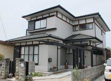 滋賀県 彦根市 外壁塗装 K様邸 (ハイクラスシリコン・遮熱)