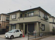 滋賀県 米原市 屋根・外壁塗装 N様邸 (フッ素・遮熱)