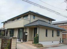 滋賀県 長浜市 外壁塗装 O様邸 (ハイクラスシリコン・遮熱)