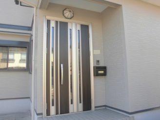 彦根市 リフォーム H様邸 (玄関ドア交換・インターホン)