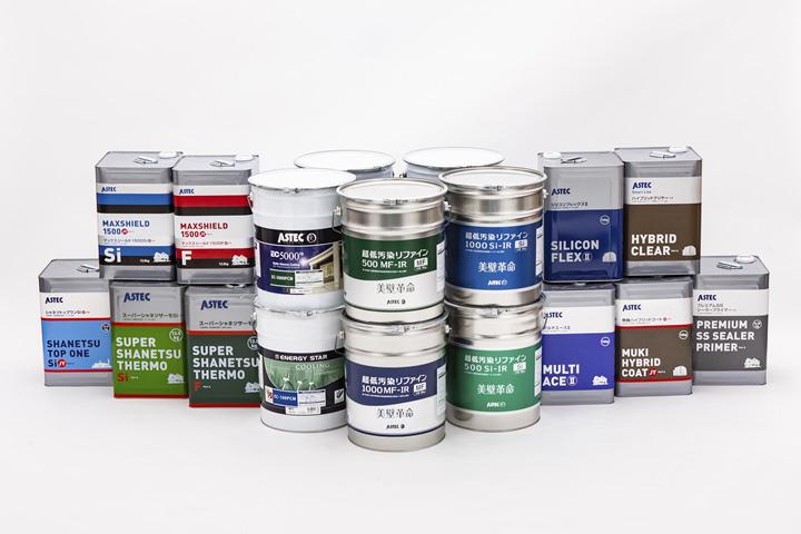人気の塗料ランキング