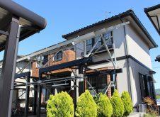 滋賀県 長浜市 外壁塗装 S様邸 (ハイクラスシリコン・遮熱)