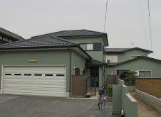 滋賀県 彦根市 屋根・外壁塗装 S様邸 (ハイクラスシリコン・遮熱)