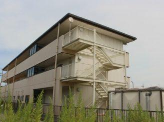 彦根市 修繕 Mアパート様 (鉄骨階段塗装)
