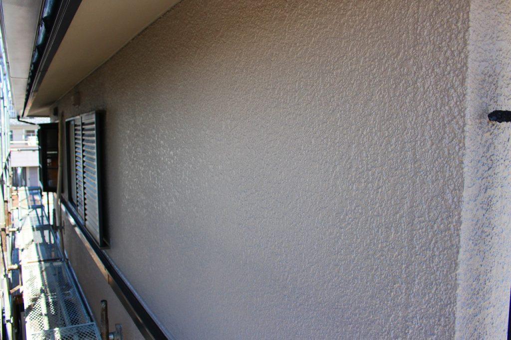 住宅の外壁の塗装完了